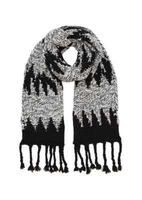 Fraas Knit Scarf Black