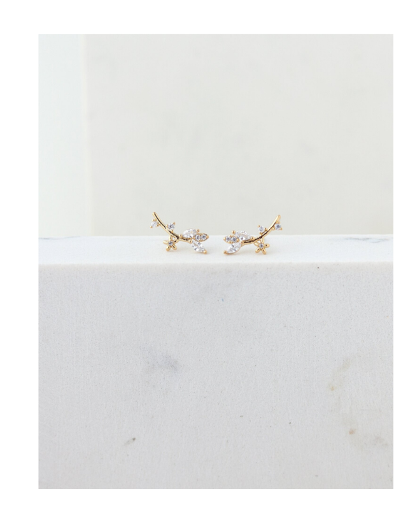 Lover's Tempo Lover's Tempo Eden Climber Earrings Gold