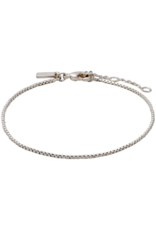 PILGRIM Classic Silver-Plated Chain Bracelet by Pilgrim