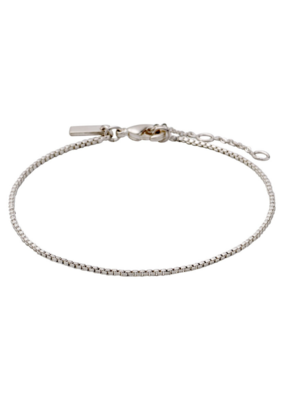 PILGRIM Classic Silver-Plated Chain Bracelet by Pilgrim