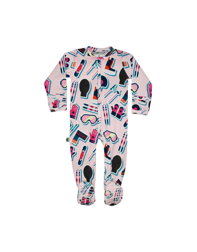 Inchworm Alley Longleeve Ski Bum Footies