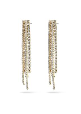 PILGRIM Pilgrim Rachel Earrings Crystal Gold