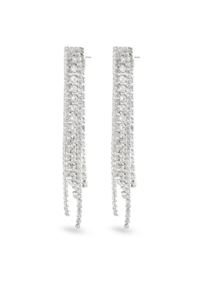 PILGRIM Pilgrim Rachel Earrings Crystal Silver