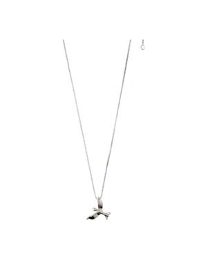 PILGRIM Pilgrim Air Bird Necklace Silver