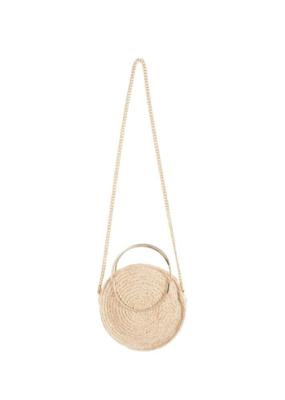 ICHI ICHI Handbag Round, Straw