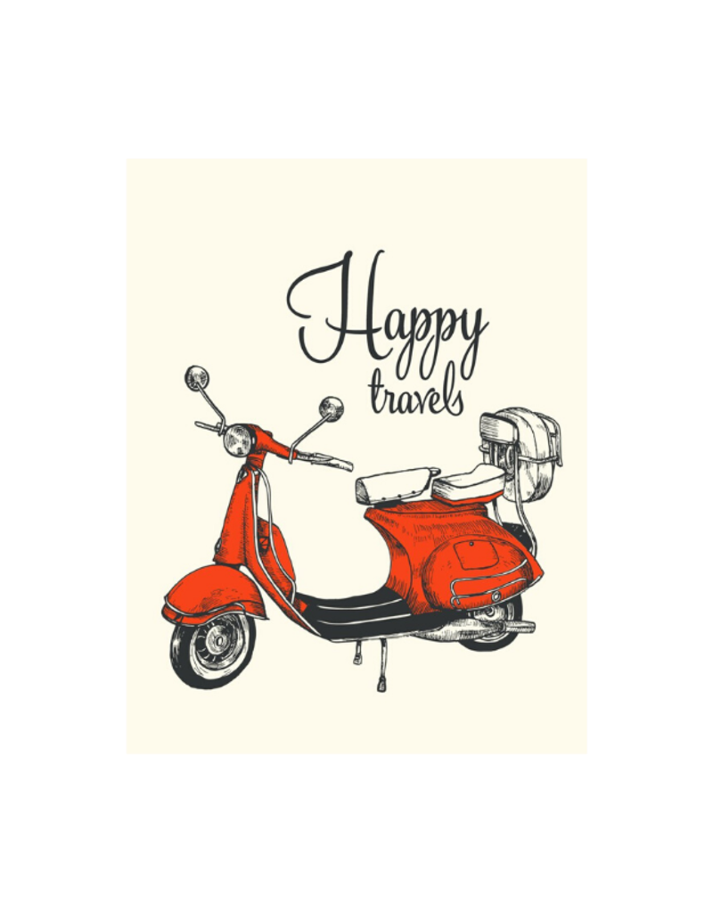 The Good Days Print Co. Happy Travels Card
