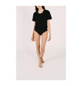 Smash + Tess T-Shirt Bodysuit in Black by Smash + Tess