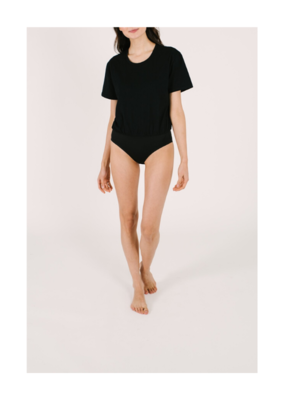 Smash + Tess smash + tess T-Shirt Bodysuit Black