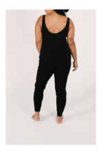 Smash + Tess Tuesday Romper in Black by Smash + Tess