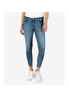 Kut from the Kloth Connie Ankle Skinny Step Hem in Empire Wash by Kut from the Kloth