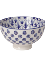"""Stamped Blue Dots Bowl 4"""""""