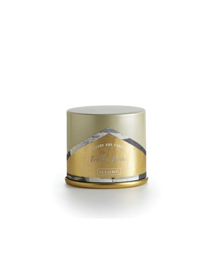 Illume Tonka Noir Demi Tin Candle