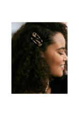 Lover's Tempo Piper Hair Clip  2-pack in Grey by Lover's Tempo