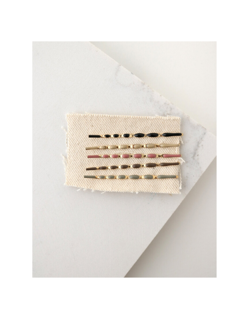 Lover's Tempo Sydney Hair Bobby Pin 5-Pack in Multi by Lover's Tempo