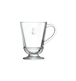 premier gift La Rochere Bee Glass Mug 9.7oz