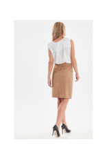 b.young Ginny Sleeveless V-Neck Top by b.young