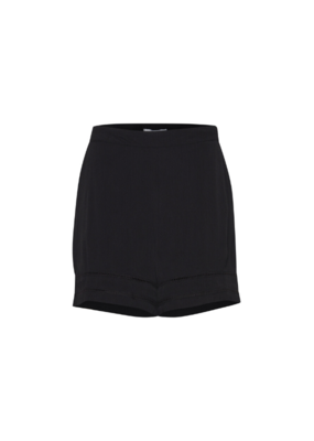 ICHI Fernanda Shorts in Black by ICHI