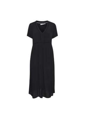 ICHI Fernanda Dress in Black by ICHI
