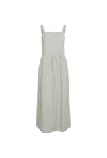 ICHI Tulle Dress in Malachite Green by ICHI