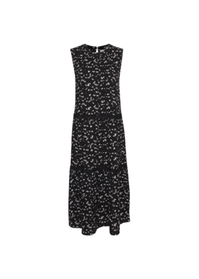 ICHI Fantasia Dress in Black by ICHI