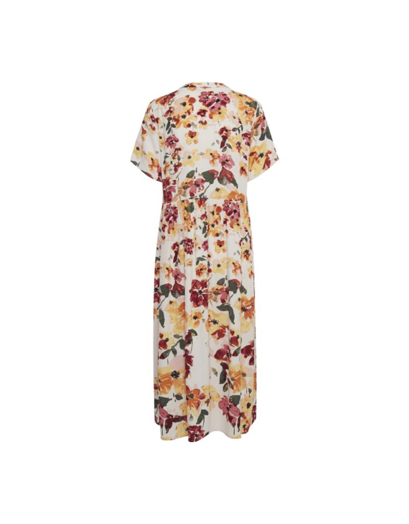 ICHI Brunsa Dress in Tapioca by ICHI