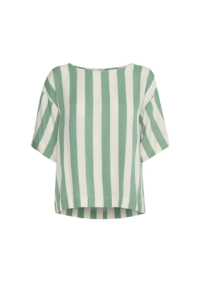 ICHI Catarina Top in Malachite Green by ICHI