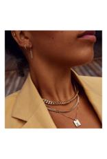 PILGRIM Pilgrim Water Necklace Gold