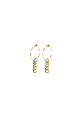 PILGRIM Pilgrim Water Earrings Gold
