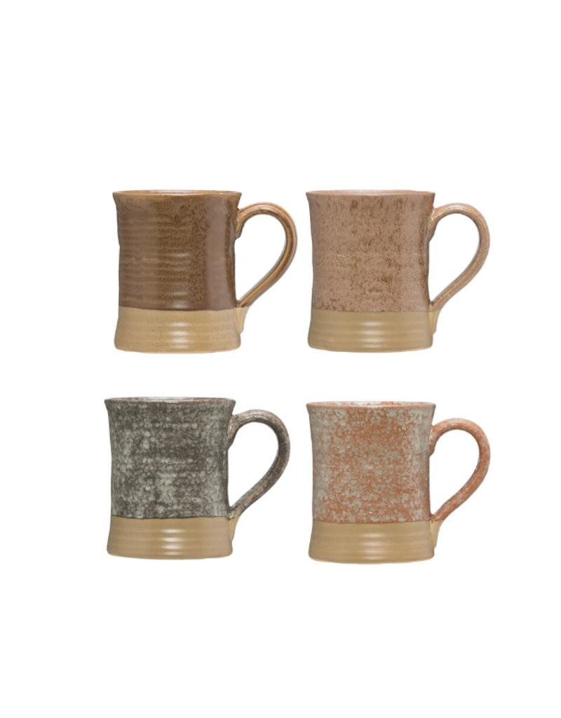 Stoneware Mug with Reactive Glaze