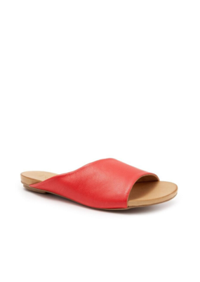 Bueno Kilmer Slide in Red Leather by bueno