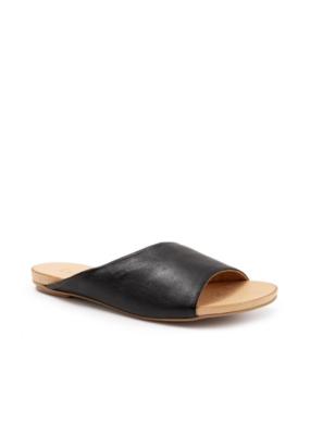 Bueno Kilmer Slide in Black Leather by bueno