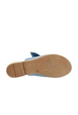 Bueno Joley Slide Sandal in Denim Leather by bueno