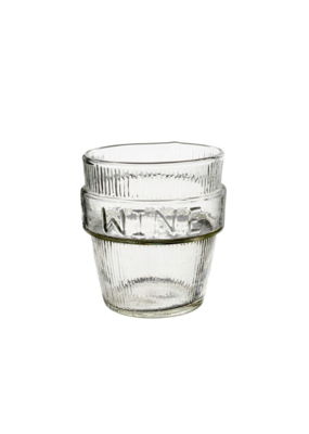 """Wine"" Drinking Glass"