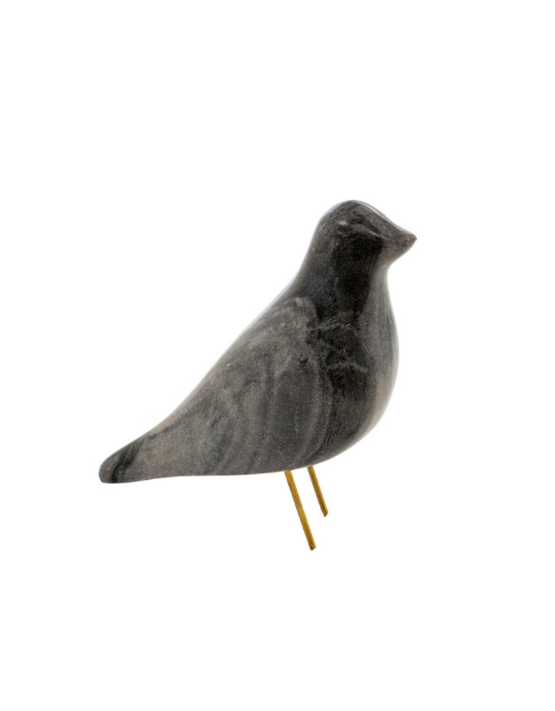 Indaba Trading Black Marble Bird