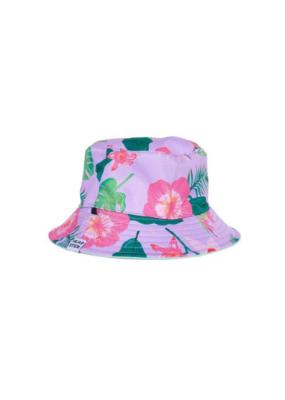 HEADSTER Headster Hat Wild Pink Hibiscus Bucket