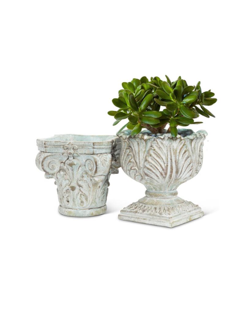 Ornate Pedestal Planter