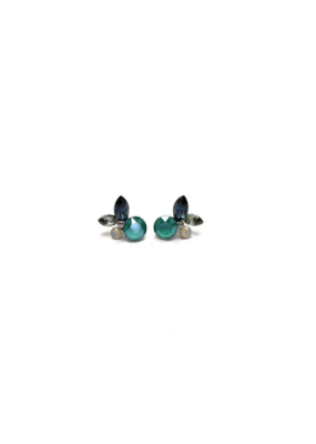 Lover's Tempo Lover's Tempo Earrings Corsage Post Blue