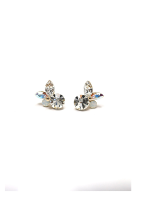Lover's Tempo Lover's Tempo Earrings Corsage Posts Clear