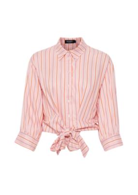 Soaked in Luxury Lelu Blouse Rose Stripe by Soaked in Luxury