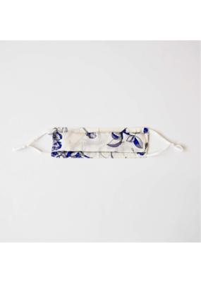 lemonwood Silk Face Mask Santorini Blue