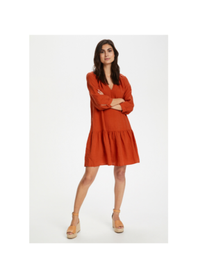 Part Two Chania Linen Dress in Chili by Part Two