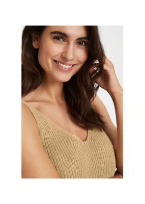Part Two Camerona Top in Pebble by Part Two