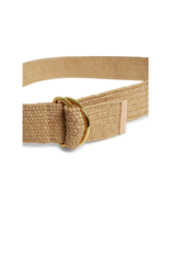 Part Two Carren Woven Belt in Natural Brown by Part Two