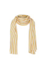 Part Two Carin Scarf in Golden Stripe by Part Two