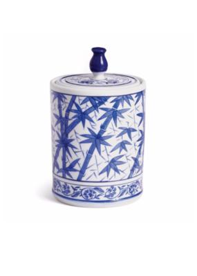 Napa Home & Garden Barclay Butera Dynasty Bamboo Lidded Jar