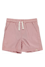Me & Henry Microstripe Swimshorts Red by Me & Henry
