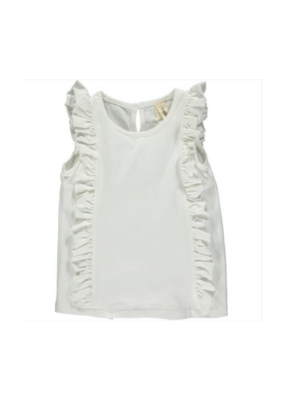 vignette Pippin Tank in Ivory by Vignette
