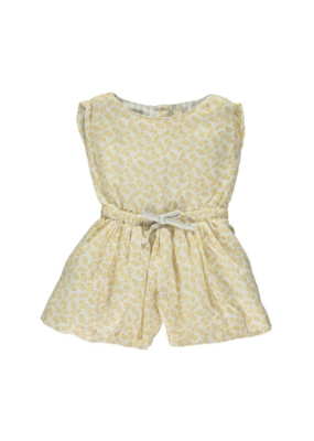 vignette Cindy Romper in Lemon by Vignette