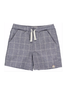 Me & Henry Swimshorts Navy Grid by Me & Henry