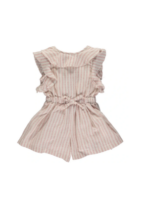 vignette Sandy Romper in Cherry by Vignette